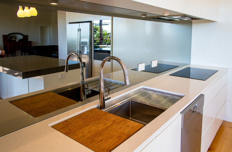 Custom Made Joinery|Caesar Stone Bench tops